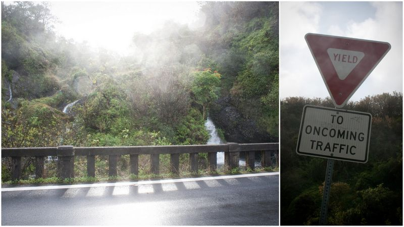 maui, hawaii, road to hana, waterfall